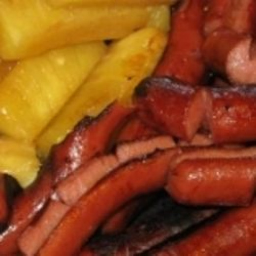 Vintage Hawaiian Punch Hot Dog Recipe