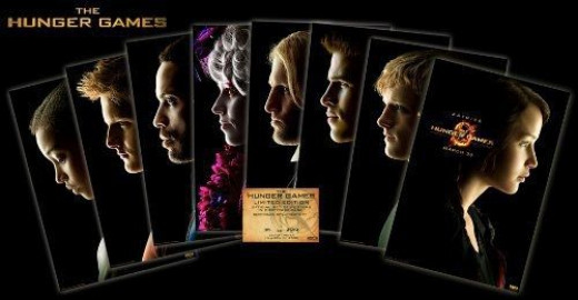 The Hunger Games Limited Edition Poster Set