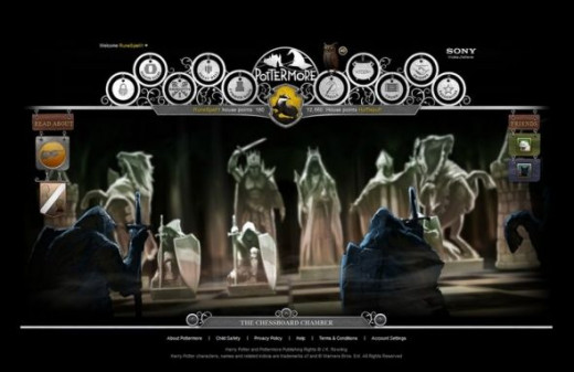 Pottermore Chess Game