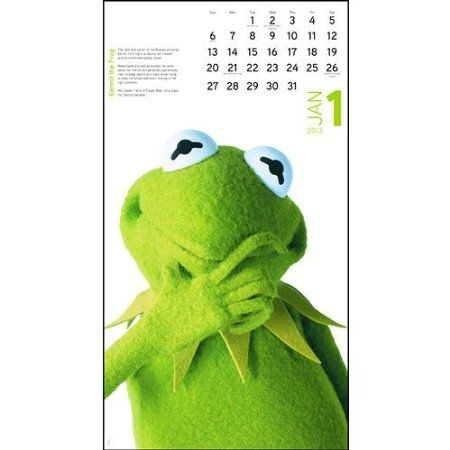 Page From The Muppets 2013 calendar.