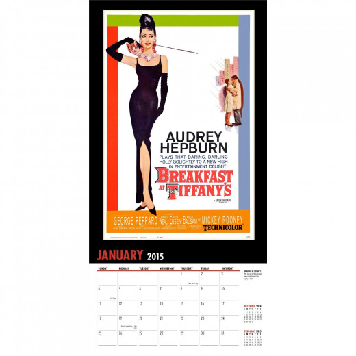 Breakfast at Tiffany's 2015 Calendar Poster Page