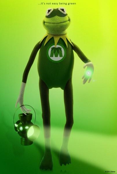 The Muppets Green Lantern