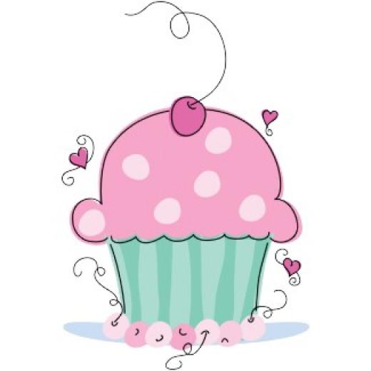 Whimsical Cupcake Apron