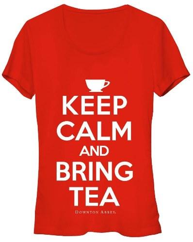 Keep Calm and Bring Tea Downton Abbey T-Shirt