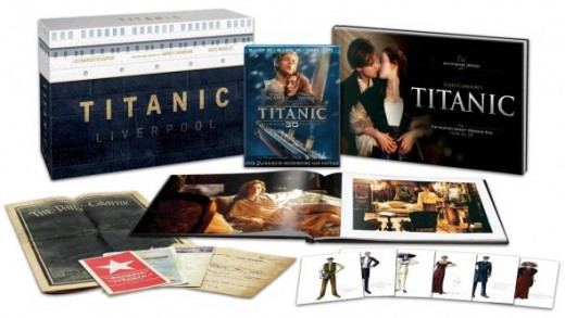 Titanic Collector's Edition Contents