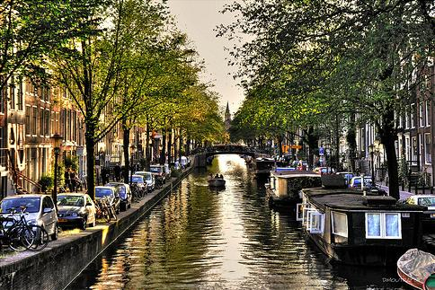 Historic Amsterdam Canals