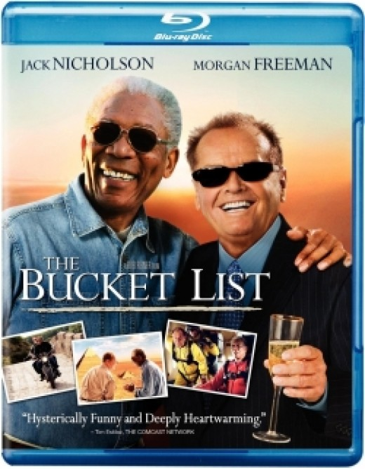 The Bucket List Coffee Scenes