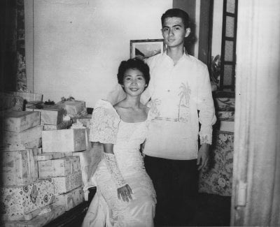Our Wedding Day, May 8,1957