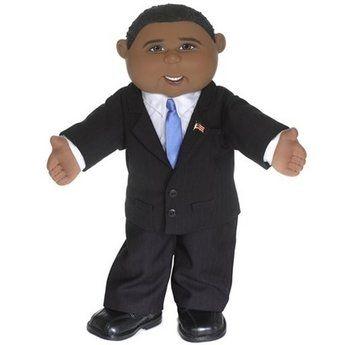 Barack Obama Cabbage Patch Doll