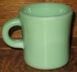 Oven Fire-King Ware Jadite Jadeite Coffee Mug