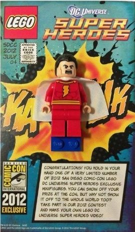 Comic Con Lego Minifigures