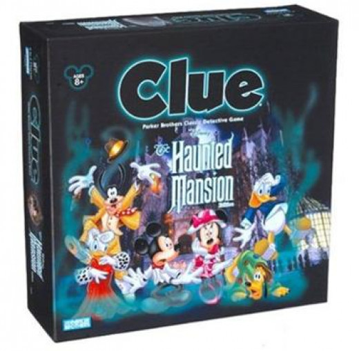 Disney's Clue Haunted Mansion Board Game