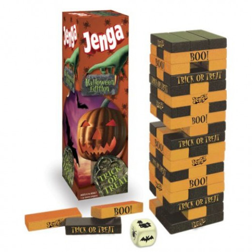 Jenga Halloween Edition