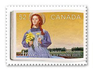 Anne of Green Gables Postage Stamps
