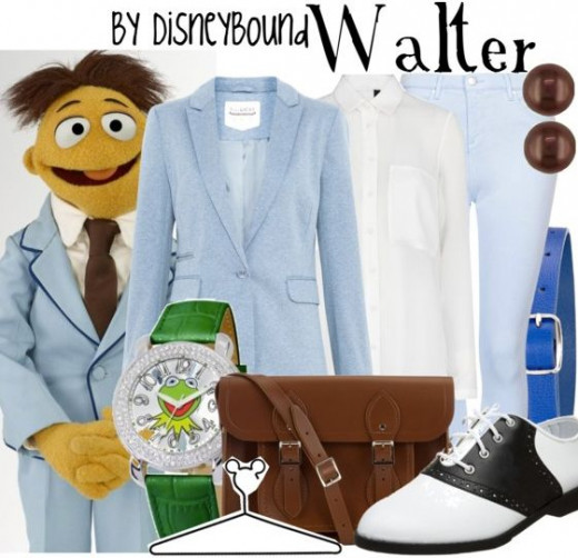 Muppet Walter Outfit