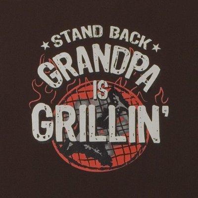 Grandpa is Grillin' Apron