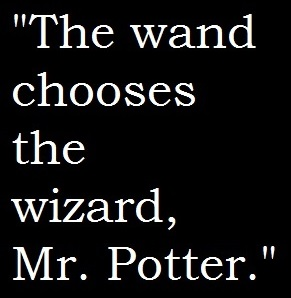 The Wand Chooses The Wizard