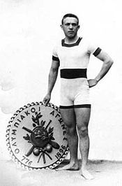 Alfréd Hajós - the First Modern Olympic Champion in swimming, and one of only two people two ever win medals in both a sport and an art in architecture