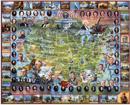 U.S. Presidents Jigsaw Puzzle