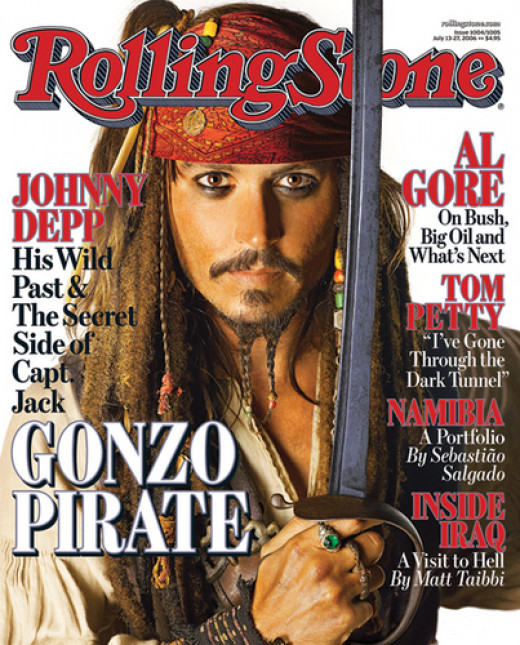 Johnny Depp Rolling Stone