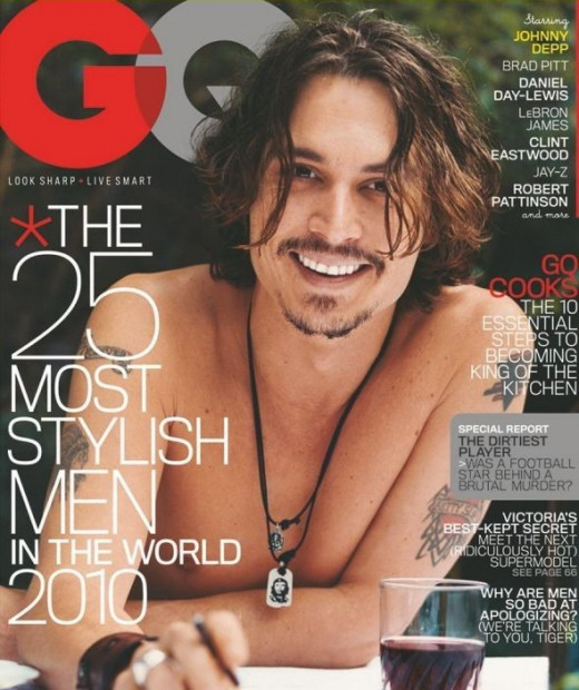Johnny Depp on GQ