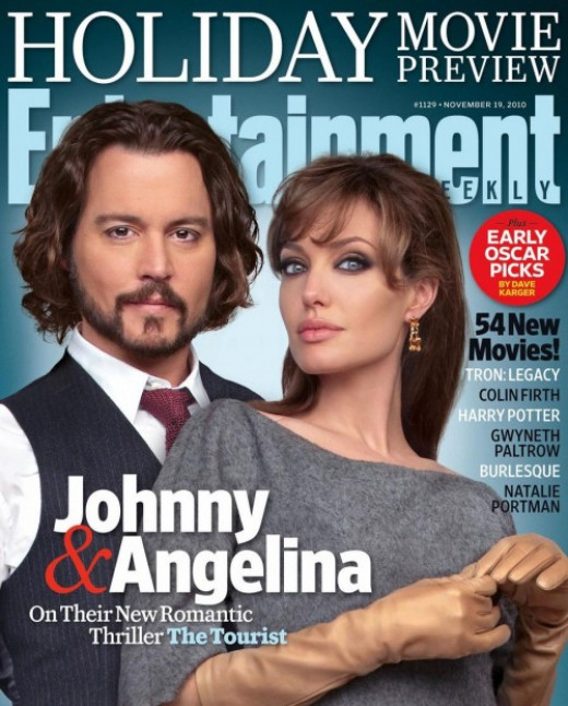 Johnny Depp on Entertainment Weekly