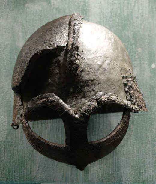 An actual viking age helm