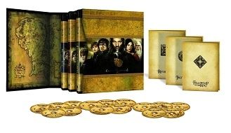 Lord of the Rings Extended Version Trilogy Boxed Set Contents