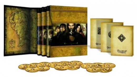 Lord of the Rings Extended Version Blu-ray Box Set
