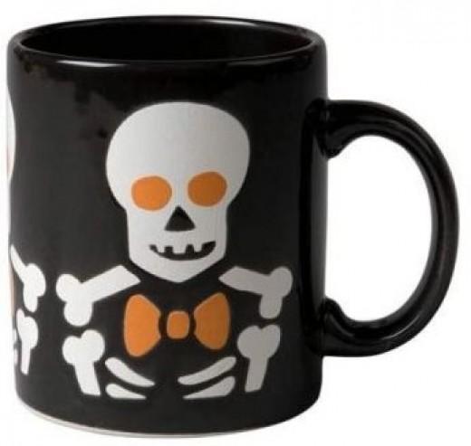 Waechtersbach Skeleton Coffee Mug