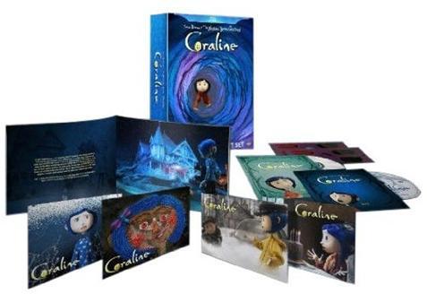 Coraline Blu-ray Gift Set