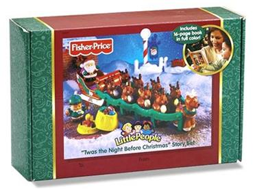 Fisher-Price Twas The Night Before Christmas Story Set