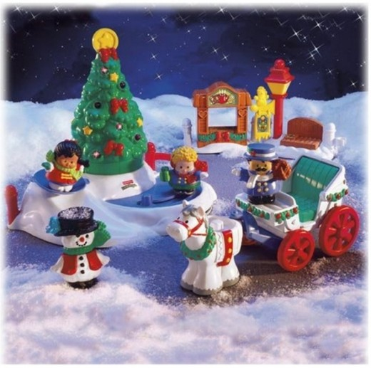 Fisher-Price Little People Tree LIghting Playset