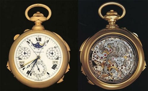 Patek Phillipe's Supercomplication Watch