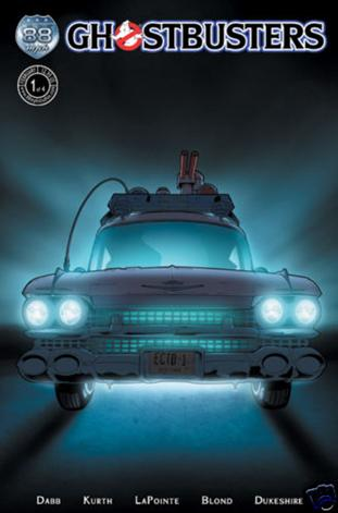 Ghostbusters Ecto 1 Comic Book