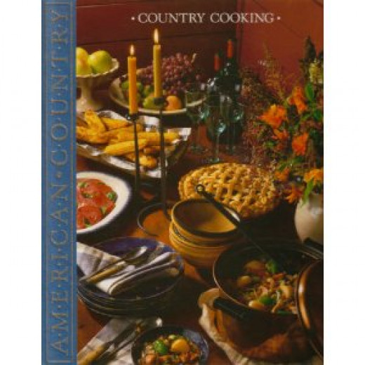 Time Life American Country Country Cooking Cookbook