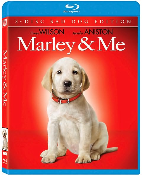 Marley and Me on Blu-ray