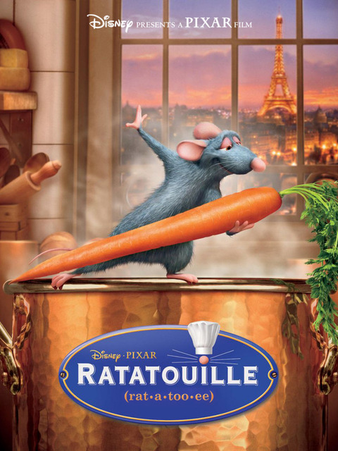 Ratatouille Movie Food Poster