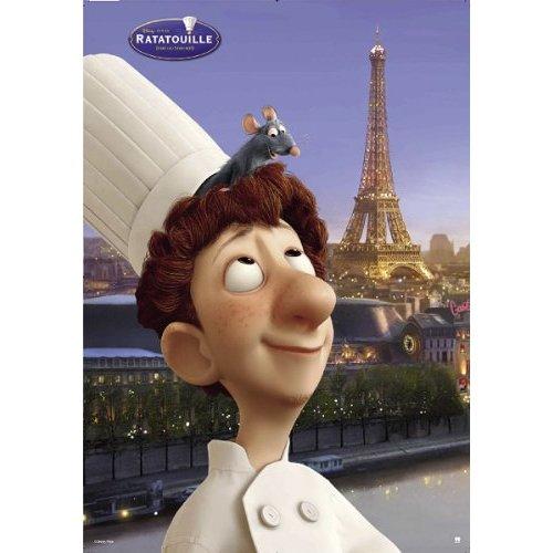 Ratatouille's Linguini & Remy Poster