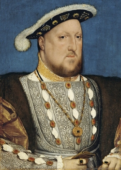 Henry VIII (image is public domain due to age)