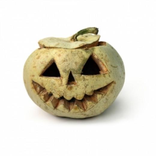 Jack O'Lantern, a common Halloween Decoration