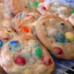 The Best-Ever M&M Cookies.