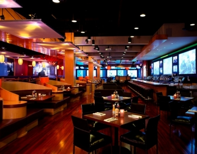 Lucky Strike Lanes - A cutting-edge combination of bowling, dining, lounging, and multi-media art.