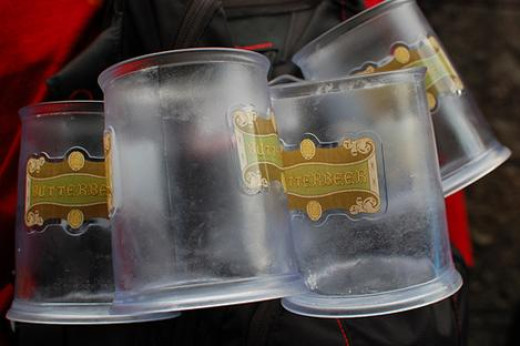A Set of Butterbeer Steins