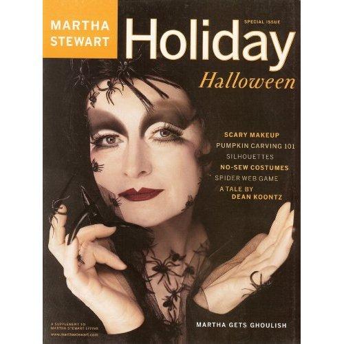 Martha Stewart Halloween Magazines