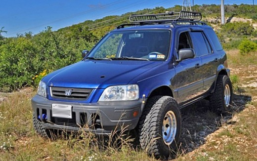 Boosted & Lifted RD1 CRV