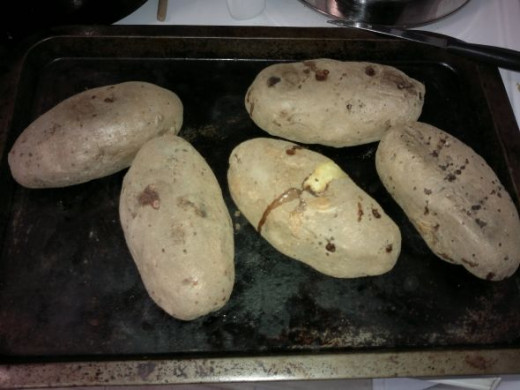 Potatoes Baked