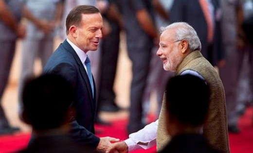 nuclear fuel deal has been incorporated between India and Australi.Australia will supply Uranium ore to India.