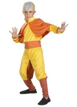 Avatar Aang costume, for the hero in us all.