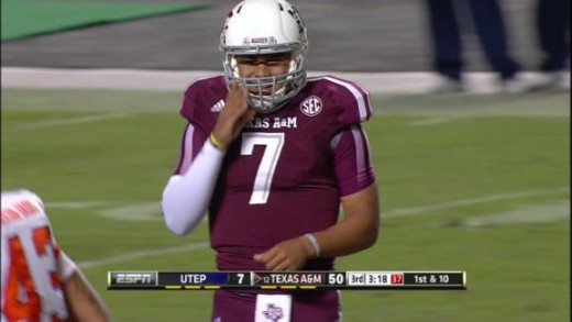 Can Kenny Hill lead his team to the college football playoffs?